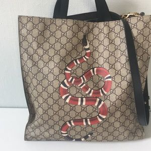 Gucci Snake Tote